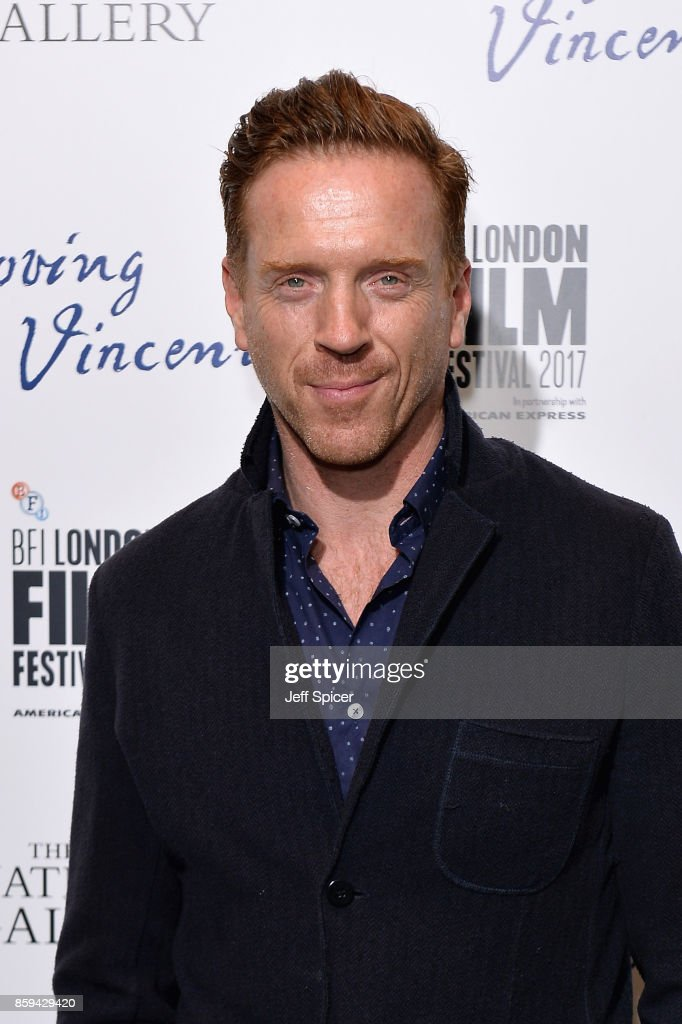 Damian Lewis Attends 'Loving Vincent' UK Premiere