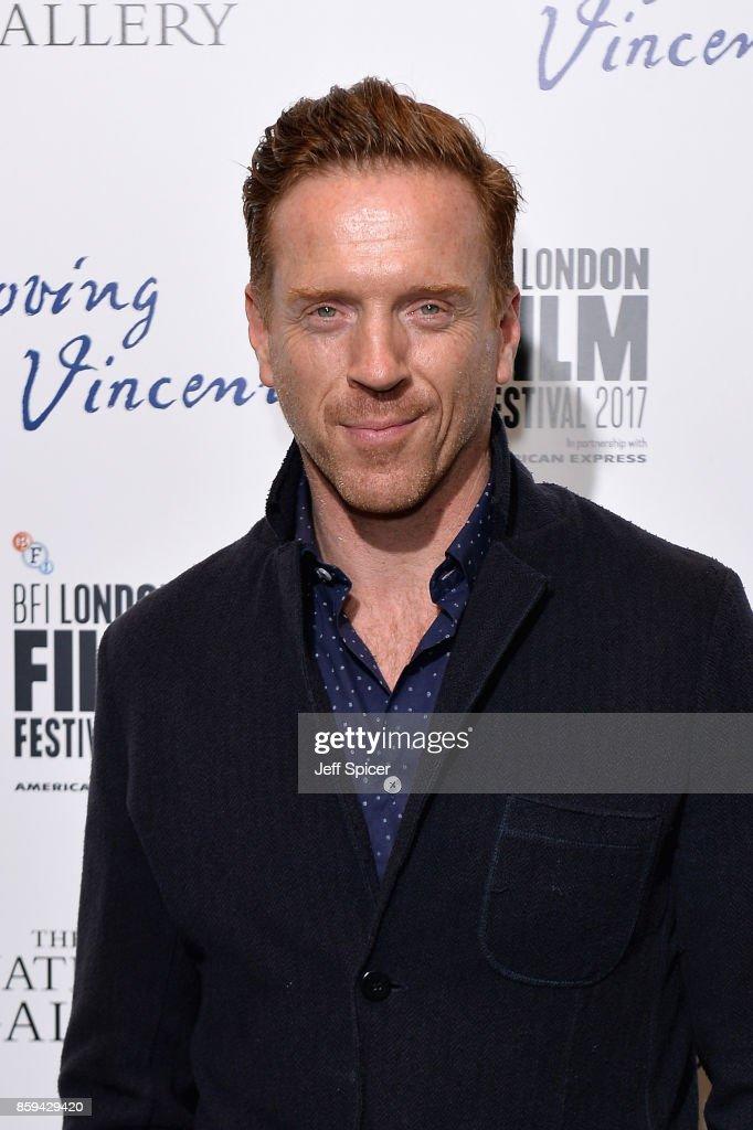 Damian Lewis Attends 'Loving Vincent' UK Premiere
