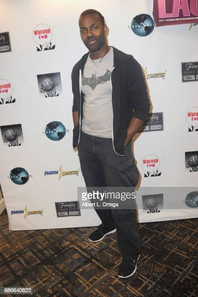 Actor Damion Poitier attends WhedonCon 2017 held at Warner Center Marriott Woodland Hills on May 21 2017 in Woodland Hills California