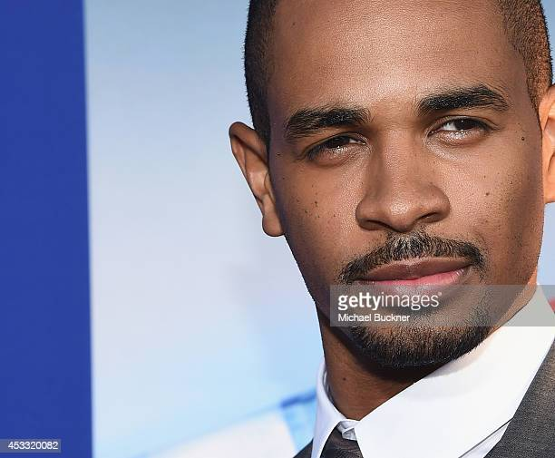 Actor Damon Wayans Jr arrives at the premiere of Twentieth Century Fox's 'Let's Be Cops' at ArcLight Hollywood on August 7 2014 in Hollywood...