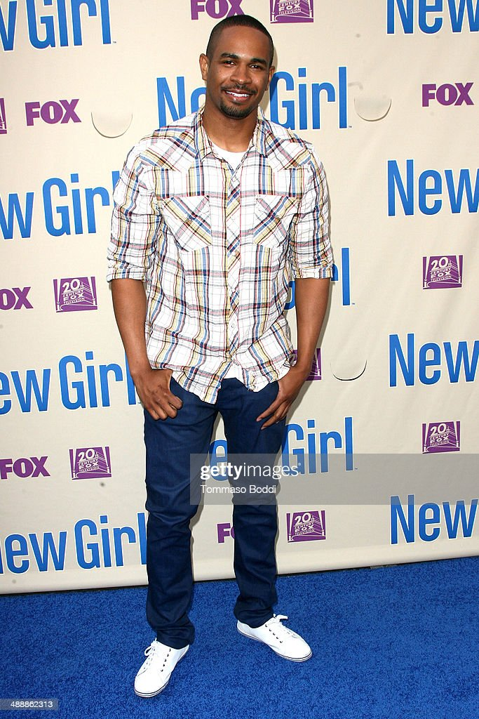 Actor Damon Wayans, Jr. attends the 'New Girl' Season 3 Finale screening and cast Q&A held at the Zanuck Theater at 20th Century Fox Lot on May 8, 2014 in Los Angeles, California.