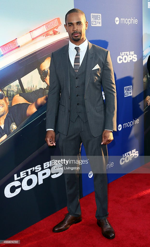 Actor <a gi-track='captionPersonalityLinkClicked' href=/galleries/search?phrase=Damon+Wayans+Jr.&family=editorial&specificpeople=748156 ng-click='$event.stopPropagation()'>Damon Wayans Jr.</a> attends the premiere of Twentieth Century Fox's 'Let's Be Cops' at ArcLight Hollywood on August 7, 2014 in Hollywood, California.