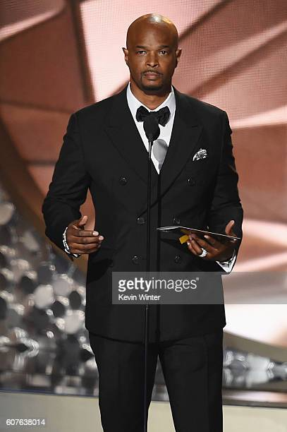 Actor Damon Wayans speaks onstage during the 68th Annual Primetime Emmy Awards at Microsoft Theater on September 18 2016 in Los Angeles California