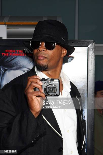 Actor Damon Wayans Sr arrives at the Los Angeles premiere of 'Dance Flick' at the ArcLight Hollywood on May 20 2009 in Hollywood California