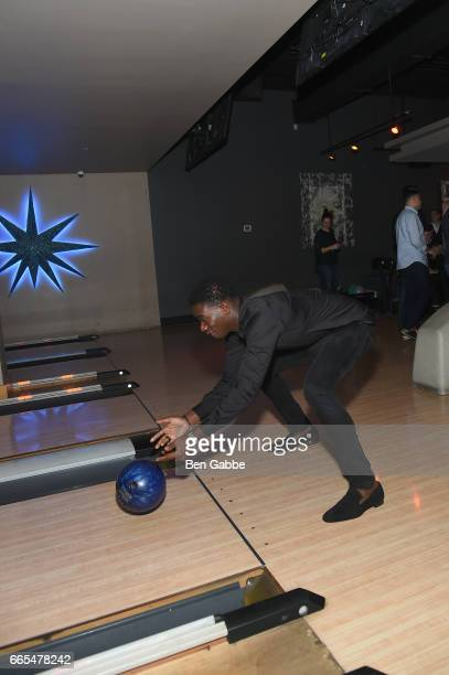Actor Damson Idris attends 8th Annual FX AllStar bowling party at Lucky Strike on April 6 2017 in New York City