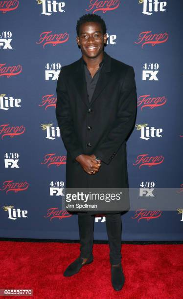 Actor Damson Idris attends the FX Network 2017 AllStar Upfront at SVA Theater on April 6 2017 in New York City