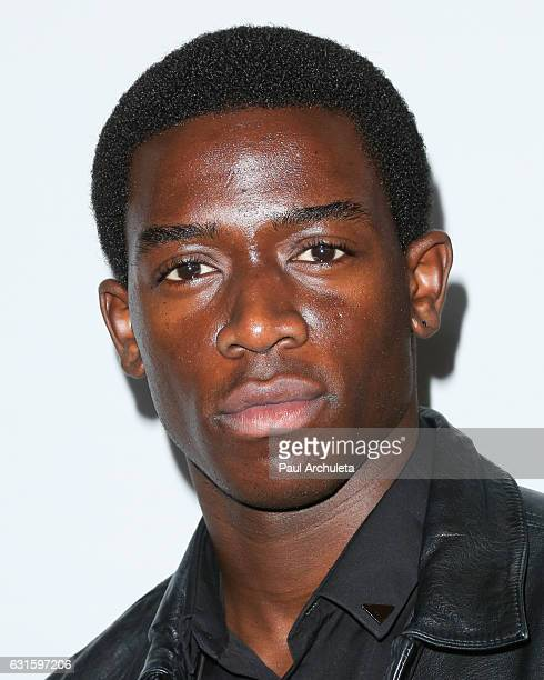 Actor Damson Idris attends the FX Starwalk at the 2017 Winter TCA Tour at Langham Hotel on January 12 2017 in Pasadena California