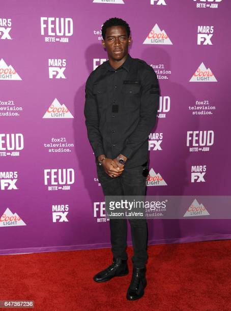Actor Damson Idris attends the premiere of 'Feud Bette and Joan' at TCL Chinese Theatre on March 1 2017 in Hollywood California
