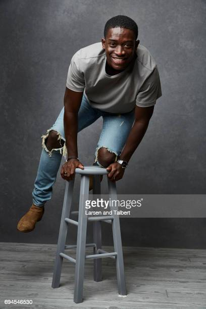 Actor Damson Idris of 'Snowfall' is photographed for Entertainment Weekly Magazine on June 9 2017 in Austin Texas