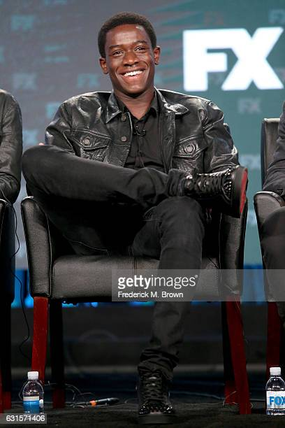 Actor Damson Idris of the television show 'Snowfall' speaks onstage during the FX portion of the 2017 Winter Television Critics Association Press...