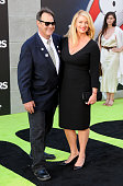 Actor Dan Akroyd and actress Donna Dixon attend the premiere of Sony Pictures' 'Ghostbusters' at TCL Chinese Theatre on July 9 2016 in Hollywood...