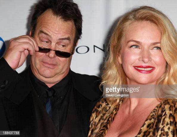 Actor Dan Aykroyd and wife...