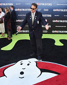 Actor Dan Aykroyd arrives at the premiere of Sony Pictures' 'Ghostbusters' at TCL Chinese Theatre on July 9 2016 in Hollywood California