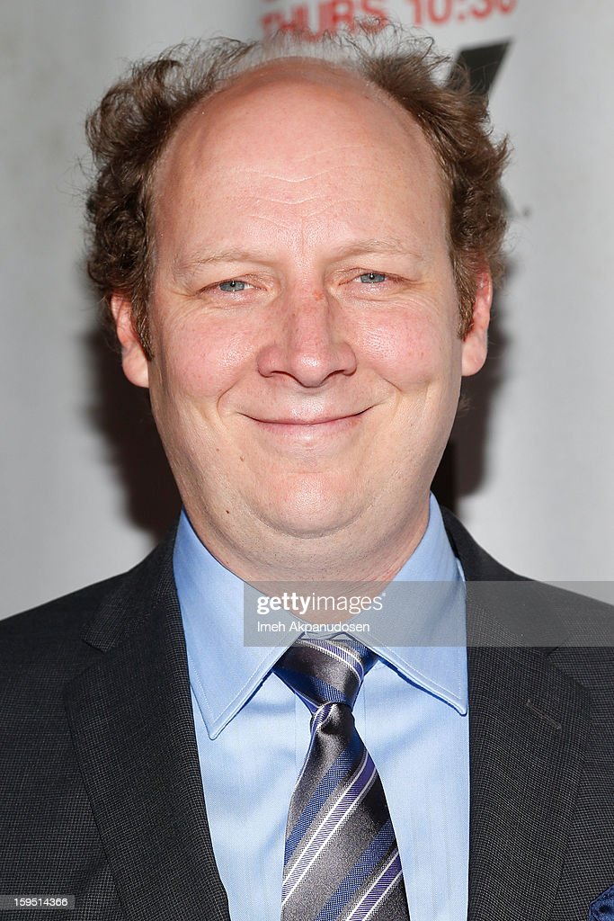 Actor Dan Bakkedahl attends the screening of FX's new comedy series 'Legit' on January 14, 2013 in Los Angeles, California.