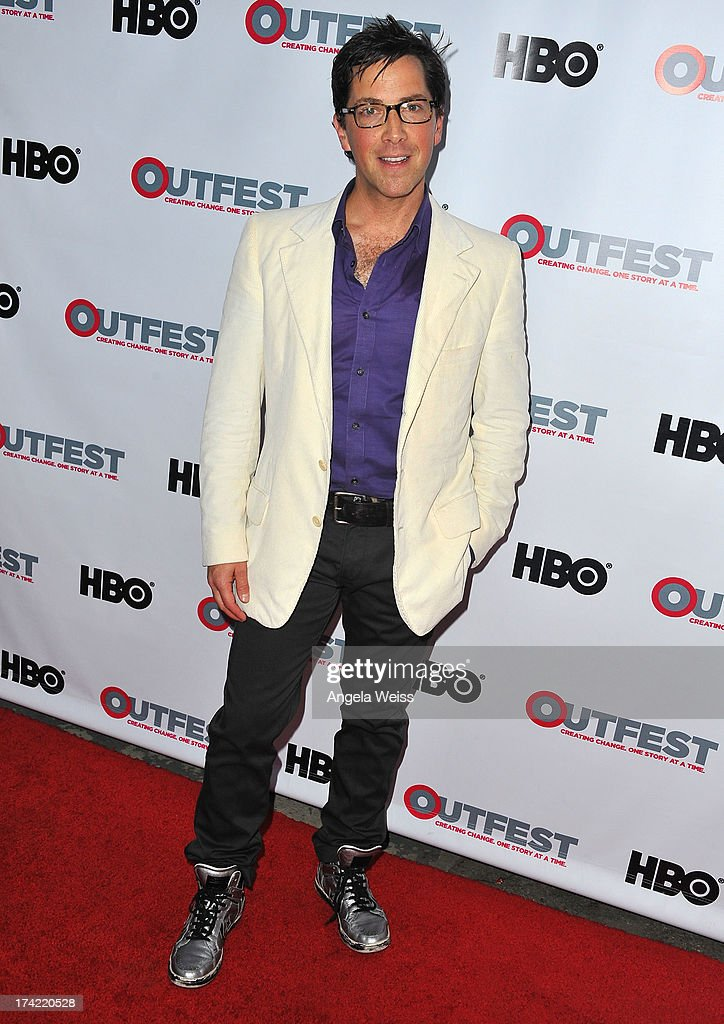 Actor Dan Bucatinsky arrives at the 2013 Outfest Film Festival closing night gala of 'G.B.F.' at the Ford Theatre on July 21, 2013 in Hollywood, California.
