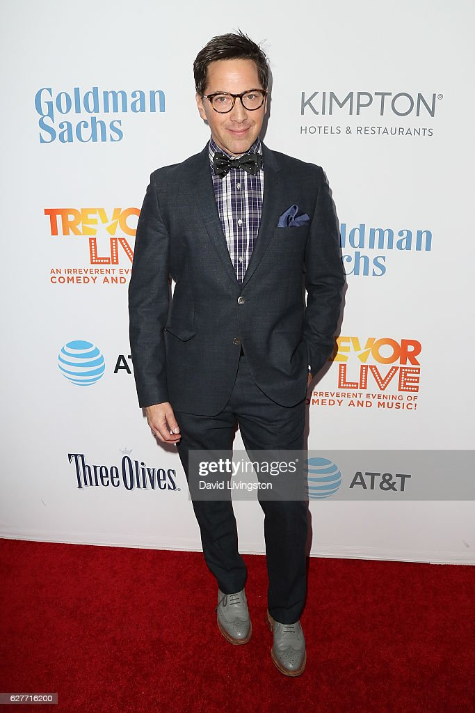 Actor Dan Bucatinsky arrives at the TrevorLIVE Los Angeles 2016 Fundraiser at The Beverly Hilton Hotel on December 4, 2016 in Beverly Hills, California.