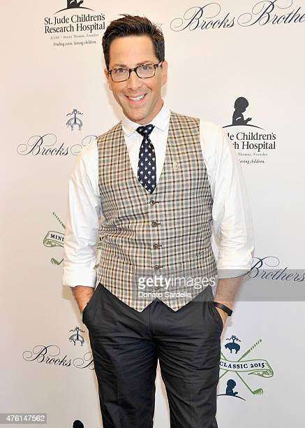 Actor Dan Bucatinsky attends Brooks Brothers MINI CLASSIC Golf Tournament to benefit St Jude Children's Research Hospital at Brooks Brothers Beverly...
