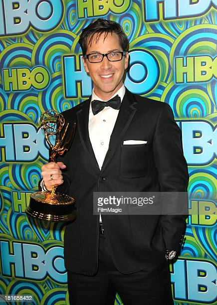 Actor Dan Bucatinsky attends HBO's official Emmy After Party at The Plaza at the Pacific Design Center on September 22 2013 in Los Angeles California