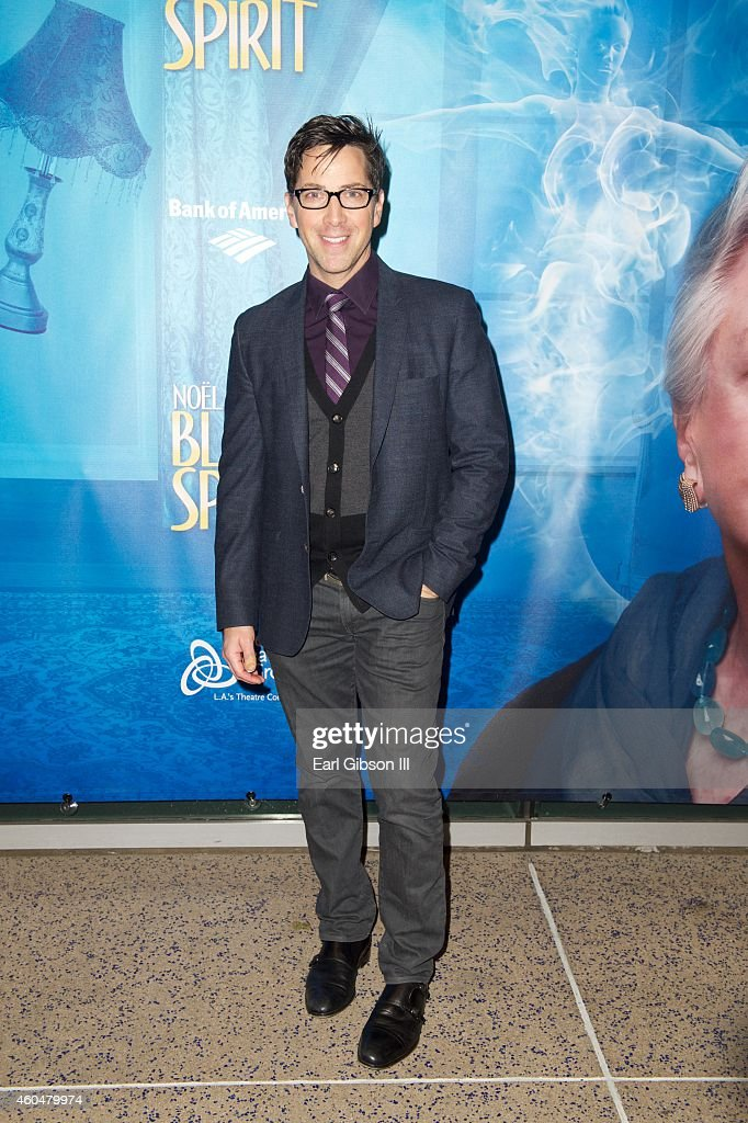Actor Dan Bucatinsky attends Noel Coward's 'Blithe Spirit' Los Angeles Opening Night Performance at Ahmanson Theatre on December 14 2014 in Los...