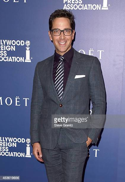 Actor Dan Bucatinsky attends the Hollywood Foreign Press Association's Grants Banquet at The Beverly Hilton Hotel on August 14 2014 in Beverly Hills...