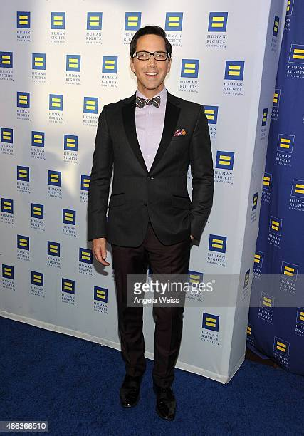 Actor Dan Bucatinsky attends the Human Rights Campaign Los Angeles Gala 2015 at JW Marriott Los Angeles at LA LIVE on March 14 2015 in Los Angeles...