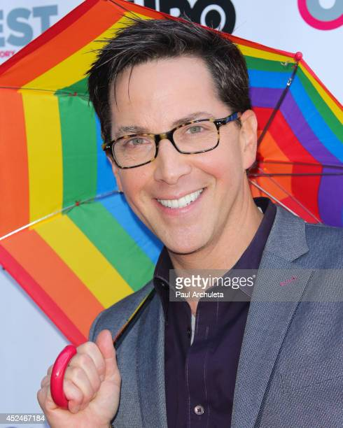 Actor Dan Bucatinsky attends the Outfest panel discussion of 'It Got Better' at The DGA Theater on July 20 2014 in Los Angeles California