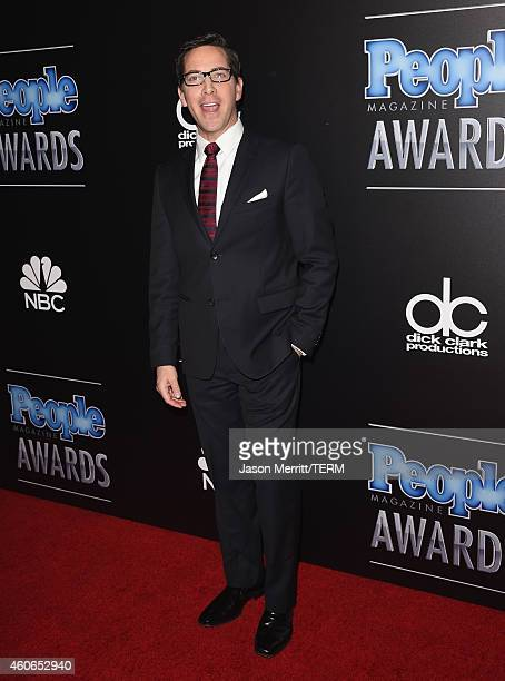 Actor Dan Bucatinsky attends the PEOPLE Magazine Awards at The Beverly Hilton Hotel on December 18 2014 in Beverly Hills California