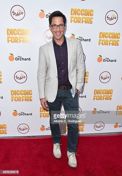 Actor Dan Bucatinsky attends the premiere of 'Digging for Fire' at The ArcLight Cinemas on August 13 2015 in Hollywood California