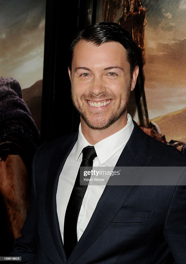 Actor Dan Feuerriegel arrives at the premiere of Starz's 'Spartacus: War Of The Damned' at the Regal Cinemas L.A. Live on January 22, 2013 in Los Angeles, California.
