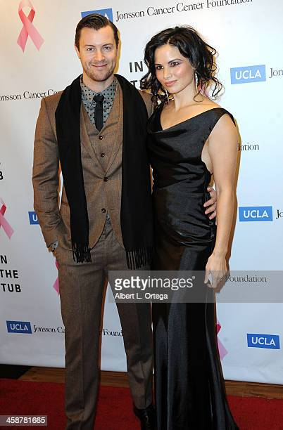 Actor Dan Feurriegel and actress Katrina Law attend TJ Scott's 'In The Tub' Book Party Launch to benefit UCLA's Jonsson Cancer Center for Breast...
