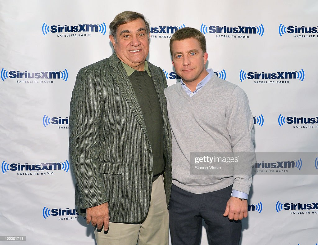 Actor <a gi-track='captionPersonalityLinkClicked' href=/galleries/search?phrase=Dan+Lauria&family=editorial&specificpeople=757077 ng-click='$event.stopPropagation()'>Dan Lauria</a> (L) and actor/producer <a gi-track='captionPersonalityLinkClicked' href=/galleries/search?phrase=Peter+Billingsley&family=editorial&specificpeople=1543122 ng-click='$event.stopPropagation()'>Peter Billingsley</a> visit SiriusXM Studios on December 13, 2013 in New York City.