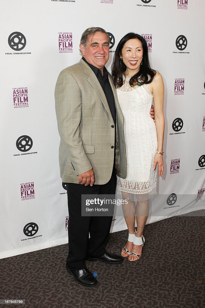 Actor <a gi-track='captionPersonalityLinkClicked' href=/galleries/search?phrase=Dan+Lauria&family=editorial&specificpeople=757077 ng-click='$event.stopPropagation()'>Dan Lauria</a> and Jodi Long attend the 2013 LA Asian Pacific Film Festival - opening night premiere of 'Linsanity' at the Directors Guild Of America on May 2, 2013 in Los Angeles, California.