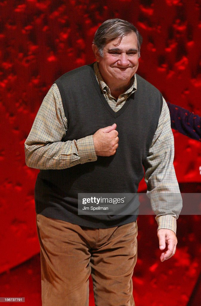 Actor <a gi-track='captionPersonalityLinkClicked' href=/galleries/search?phrase=Dan+Lauria&family=editorial&specificpeople=757077 ng-click='$event.stopPropagation()'>Dan Lauria</a> attends the 'A Christmas Story: The Musical' Broadway Opening Night at Lunt-Fontanne Theatre on November 19, 2012 in New York City.