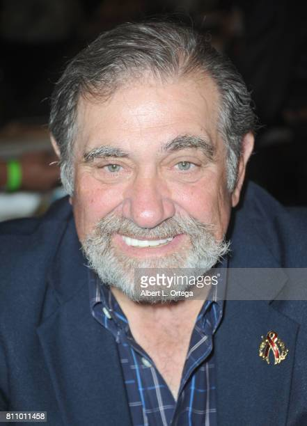 Actor Dan Lauria signs autographs at The Hollywood Show held at Westin LAX Hotel on July 8 2017 in Los Angeles California