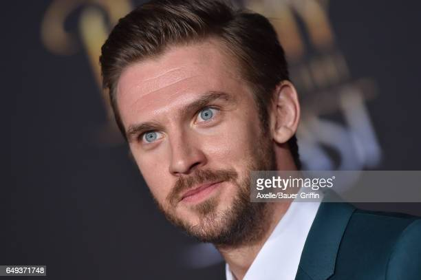 Actor Dan Stevens arrives at the Los Angeles Premiere of 'Beauty and the Beast' at El Capitan Theatre on March 2 2017 in Los Angeles California