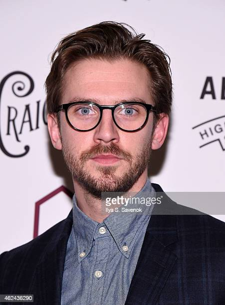 Actor Dan Stevens attends 2015 House Of SpeakEasy Gala at City Winery on January 28 2015 in New York City