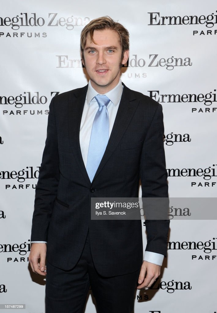 Actor Dan Stevens attends Ermenegildo Zegna 'Essenze' Collection Launch Event at The Ermenegildo Zegna Boutique on December 3, 2012 in New York City.