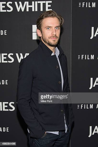 Actor Dan Stevens attends opening night of MOMA's eighth annual Contenders featuring The Film Arcade's 'James White' at Museum of Modern Art on...
