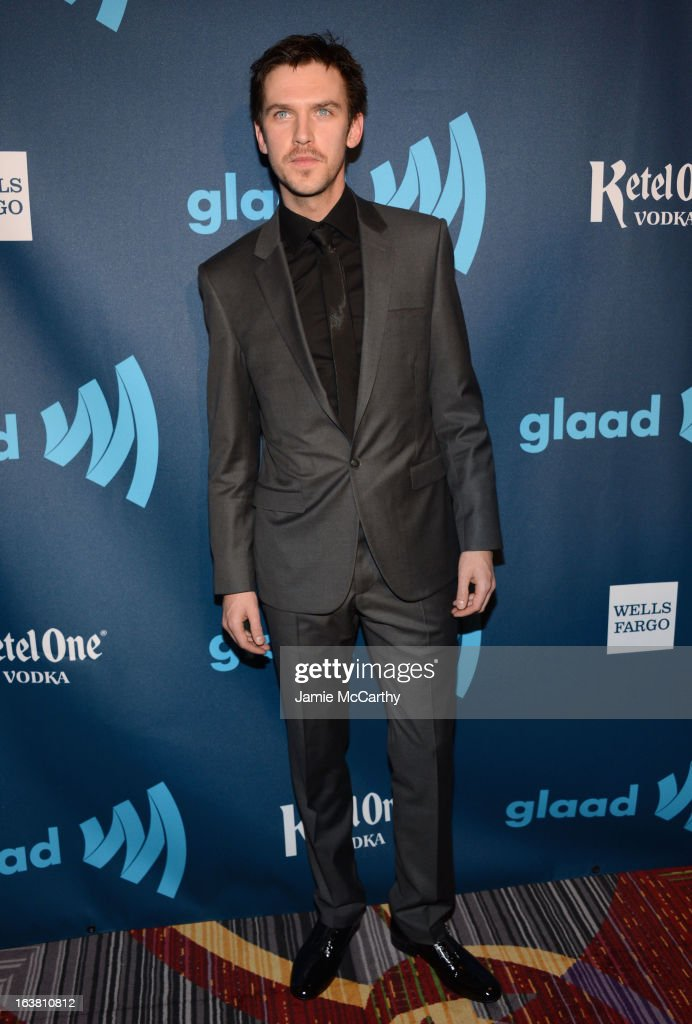 Actor Dan Stevens attends the 24th Annual GLAAD Media Awards on March 16, 2013 in New York City.