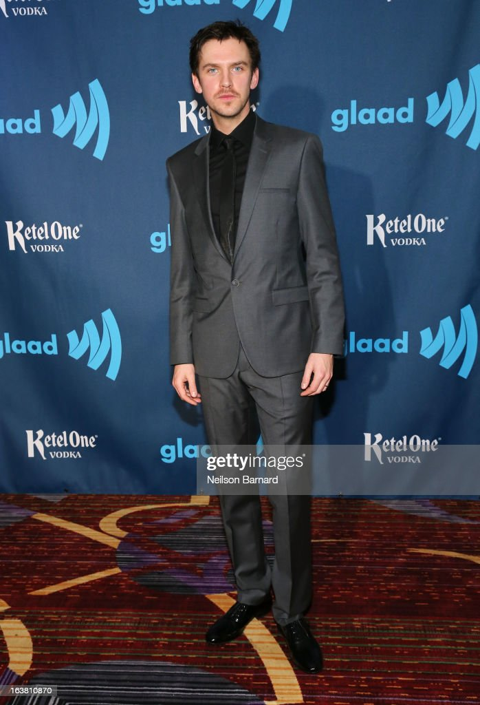 Actor <a gi-track='captionPersonalityLinkClicked' href=/galleries/search?phrase=Dan+Stevens&family=editorial&specificpeople=678756 ng-click='$event.stopPropagation()'>Dan Stevens</a> attends the 24th Annual GLAAD Media Awards on March 16, 2013 in New York City.