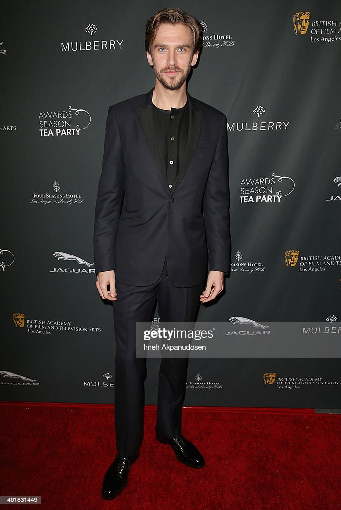 Actor Dan Stevens attends the BAFTA LA 2014 Awards Season Tea Party at the Four Seasons Hotel Los Angeles at Beverly Hills on January 11, 2014 in Beverly Hills, California.