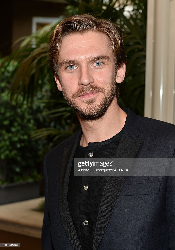 Actor <a gi-track='captionPersonalityLinkClicked' href=/galleries/search?phrase=Dan+Stevens&family=editorial&specificpeople=678756 ng-click='$event.stopPropagation()'>Dan Stevens</a> attends the BAFTA LA 2014 Awards Season Tea Party at the Four Seasons Hotel Los Angeles at Beverly Hills on January 11, 2014 in Beverly Hills, California.