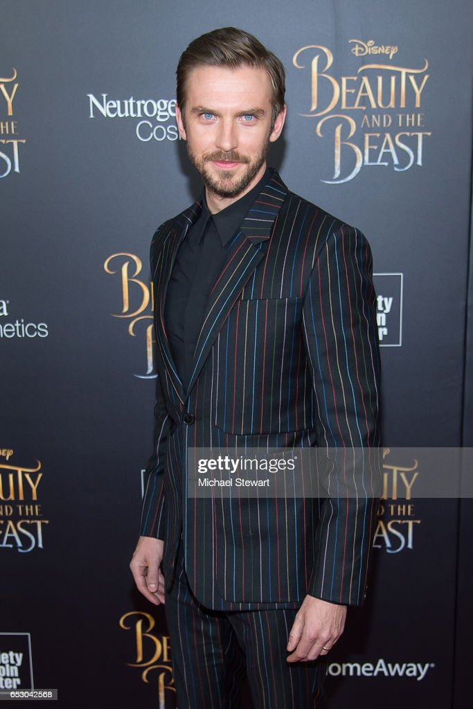 Actor Dan Stevens attends the 'Beauty And The Beast' New York screening at Alice Tully Hall at Lincoln Center on March 13, 2017 in New York City.