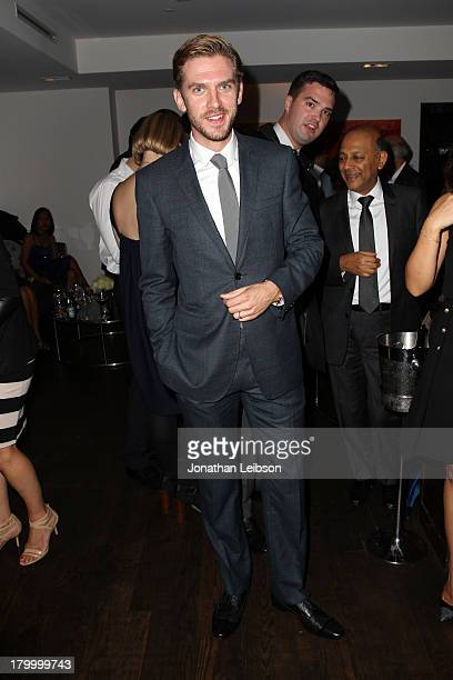 Actor Dan Stevens attends the Burberry supported premiere and celebration of 'Mandela Long Walk to Freedom' hosted by The Weinstein Company and...