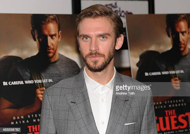 Actor Dan Stevens attends 'The Guest' New York special screening at BAM on September 16 2014 in New York City