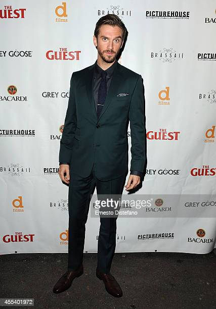 Actor Dan Stevens attends 'The Guest' premiere party during the 2014 Toronto International Film Festival held at Brassaii on September 13 2014 in...