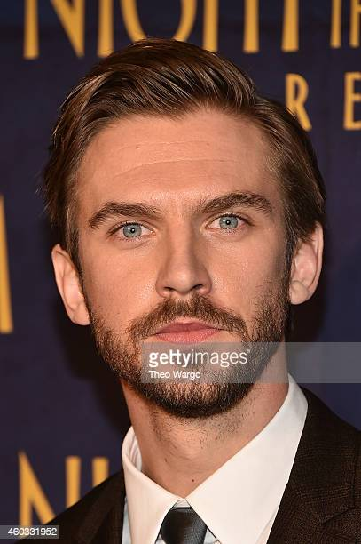 Actor Dan Stevens attends the 'Night At The Museum Secret Of The Tomb' New York Premiere at Ziegfeld Theater on December 11 2014 in New York City