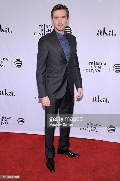 Actor Dan Stevens attends the 'The Ticket' Premiere during the 2016 Tribeca Film Festival at SVA Theatre 2 on April 16 2016 in New York City