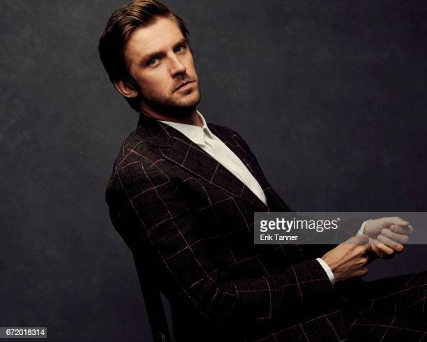 Actor Dan Stevens from 'Permission' pose at the 2017 Tribeca Film Festival portrait studio on April 22 2017 in New York City
