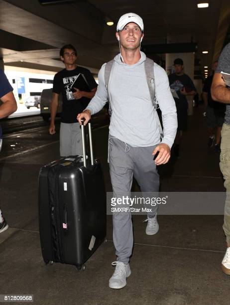 Actor Dan Stevens is seen on July 11 2017 in Los Angeles California